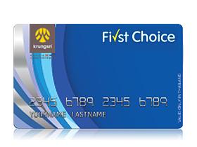 first choice card